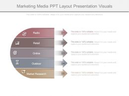 Marketing Media Ppt Layout Presentation Visuals