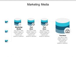 Marketing Media Ppt Powerpoint Presentation Infographic Template Format Ideas Cpb