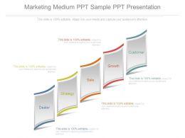 Marketing Medium Ppt Sample Ppt Presentation