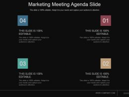 Marketing Meeting Agenda Slide Powerpoint Slide Design Ideas