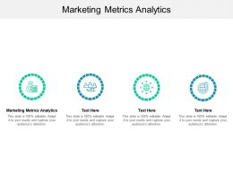 Marketing Metrics Analytics Ppt Powerpoint Presentation Gallery Rules Cpb