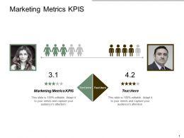 Marketing Metrics Kpis Ppt Powerpoint Presentation Portfolio Cpb