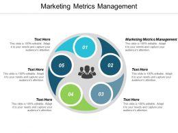 Marketing Metrics Management Ppt Powerpoint Presentation Summary Portfolio Cpb