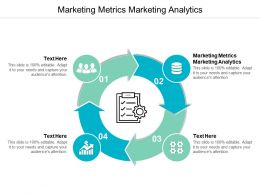 Marketing Metrics Marketing Analytics Ppt Powerpoint Presentation Ideas Show Cpb