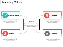 Marketing Metrics Ppt Powerpoint Presentation Portfolio Demonstration Cpb