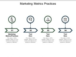 Marketing Metrics Practices Ppt Powerpoint Presentation Pictures Graphics Cpb