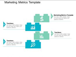 Marketing Metrics Template Ppt Powerpoint Presentation Outline Format Cpb