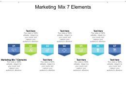 Marketing Mix 7 Elements Ppt Powerpoint Presentation Styles Ideas Cpb
