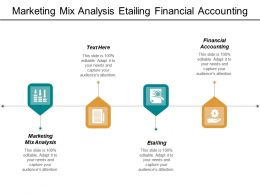 Marketing Mix Analysis Etailing Financial Accounting Financial Modelling Cpb