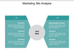 Marketing Mix Analysis Ppt Powerpoint Presentation Outline Example Cpb