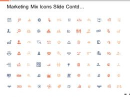 Marketing Mix Icons Slide Cont Growth Ppt Slides