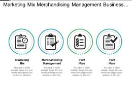 Marketing Mix Merchandising Management Business Change Management Demand Planning Cpb