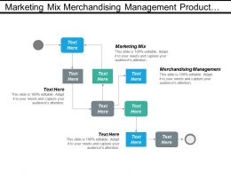 Marketing Mix Merchandising Management Product Development Organizational Strategy Cpb