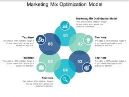 Marketing Mix Optimization Model Ppt Powerpoint Presentation Slides Outfit Cpb