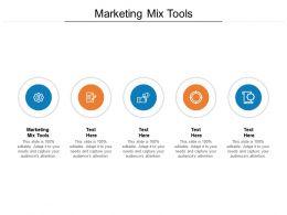 Marketing Mix Tools Ppt Powerpoint Presentation Slides Grid Cpb