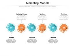 Marketing Models Ppt Powerpoint Presentation File Example Topics Cpb