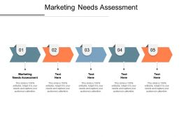 Marketing Needs Assessment Ppt Powerpoint Presentation Gallery Show Cpb