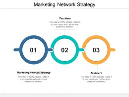 Marketing Network Strategy Ppt Powerpoint Presentation Layouts Background Cpb