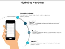 Marketing Newsletter Ppt Powerpoint Presentation Portfolio Design Inspiration Cpb