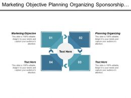 Marketing Objective Planning Organizing Sponsorship Event Project Management Cpb
