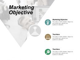 Marketing Objective Ppt Powerpoint Presentation Portfolio Summary Cpb