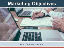 Marketing Objectives Awareness Objectives Graph Target Management Product