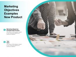 Marketing Objectives Examples Ppt Powerpoint Presentation Professional Inspiration Cpb