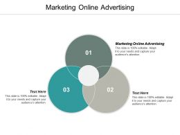 Marketing Online Advertising Ppt Powerpoint Presentation Ideas Graphics Template Cpb