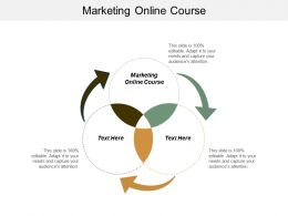 Marketing Online Course Ppt Powerpoint Presentation Gallery Model Cpb