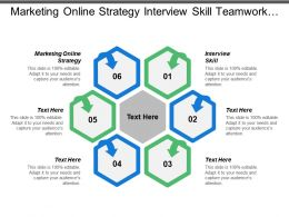 Marketing Online Strategy Interview Skill Teamwork Event Sponsorship
