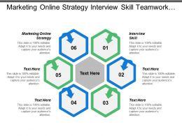 Marketing Online Strategy Interview Skill Teamwork Event Sponsorship