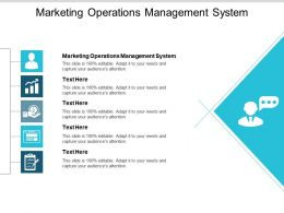 Marketing Operations Management System Ppt Powerpoint Presentation Show Graphics Pictures Cpb