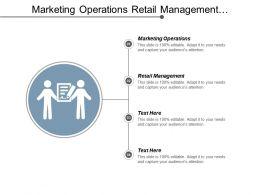 Marketing Operations Retail Management Segmentation Marketing Performance Appraisal Cpb