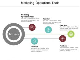 Marketing Operations Tools Ppt Powerpoint Presentation Icon Diagrams Cpb