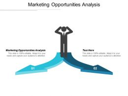 Marketing Opportunities Analysis Ppt Powerpoint Presentation Summary Inspiration Cpb