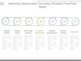 Marketing Opportunities Consulting Template Powerpoint Slides