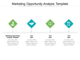Marketing Opportunity Analysis Template Ppt Powerpoint Presentation Pictures Infographics Cpb