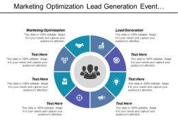 marketing_optimization_lead_generation_event_planning_project_management_cpb_Slide01