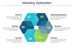 Marketing Optimization Ppt Powerpoint Presentation Portfolio Master Slide Cpb