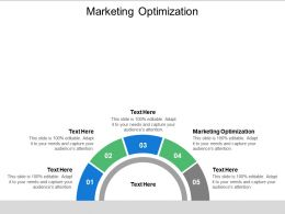 Marketing Optimization Ppt Powerpoint Presentation Show Structure Cpb