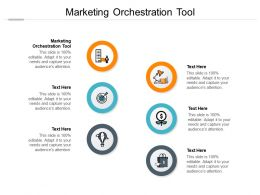 Marketing Orchestration Tool Ppt Powerpoint Presentation Show Icons Cpb