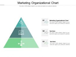 Marketing Organizational Chart Ppt Powerpoint Presentation Ideas Show Cpb