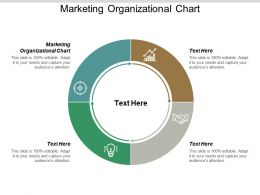 Marketing Organizational Chart Ppt Powerpoint Presentation Pictures Graphic Images Cpb