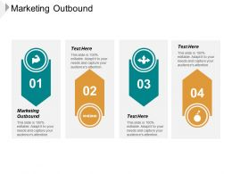 Marketing Outbound Ppt Powerpoint Presentation Infographic Template Graphic Tips Cpb