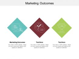 Marketing Outcomes Ppt Powerpoint Presentation Infographic Template Example File Cpb