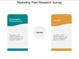 Marketing Paid Research Survey Ppt Powerpoint Presentation Layouts Background Image Cpb