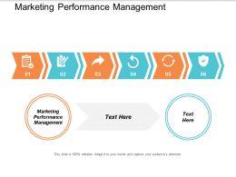 Marketing Performance Management Ppt Powerpoint Presentation Styles Mockup Cpb
