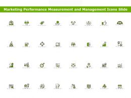Marketing Performance Measurement And Management Icons Slide Ppt Powerpoint Presentation Styles Ideas