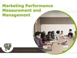 Marketing Performance Measurement And Management Powerpoint Presentation Slides