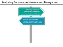 Marketing Performance Measurement Management Octopus Venture Capital Human Resources Cpb